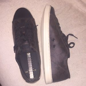 Coach sneakers size 10B